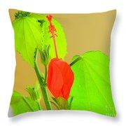 Parlor Maple Flower Throw Pillow