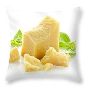 Parmesan Cheese Throw Pillow
