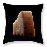 Parmesan Cheese Throw Pillow