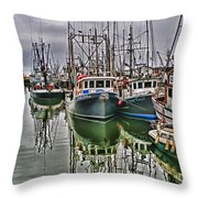 Parr Four And Old Salt Throw Pillow