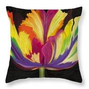 Parrot Tulip 2 Throw Pillow