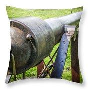 Parrott Rifle Throw Pillow