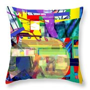 parshat Chukat Throw Pillow