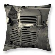 Part Of A Dodge Throw Pillow