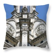 Part Of The Crown - Palace Chambord - France  Throw Pillow