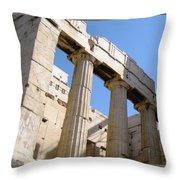 Parthenon 3 Throw Pillow