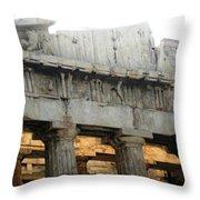 Parthenon 5 Throw Pillow