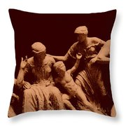 Parthenon Sculpture Throw Pillow