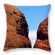 Parting Rock Throw Pillow