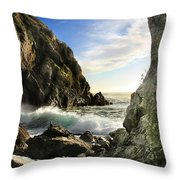 Partington Remembered Throw Pillow by Julianne Bradford