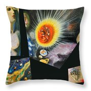 Parts Of Universe Throw Pillow