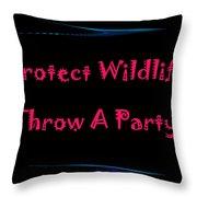 Party 4 Throw Pillow