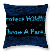 Party 5 Throw Pillow by Aimee L Maher Photography and Art Visit ALMGallerydotcom