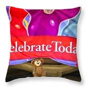 Party Bear Throw Pillow