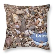 Party Excavation Throw Pillow