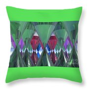 Party Glasses Throw Pillow