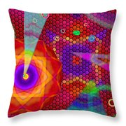 Party Mood Throw Pillow