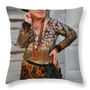 Party Night Gypsy Throw Pillow