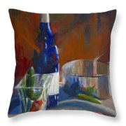 Party Peppers Throw Pillow