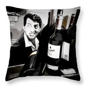 Partying With Dean Throw Pillow