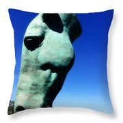 Parx Horse Throw Pillow