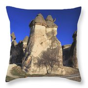 Pasabag Goreme National Park Cappadocia Turkey Throw Pillow
