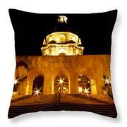 Pasadena City Hall Throw Pillow