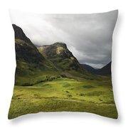Pass Of Glencoe - D002455 Throw Pillow