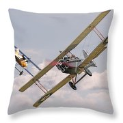 Passage Of Arms Throw Pillow