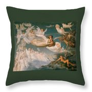 Passage Of The Souls Throw Pillow