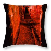 Passage To Hell Throw Pillow