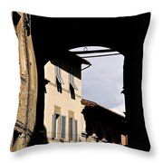 Passage To The Campo Throw Pillow