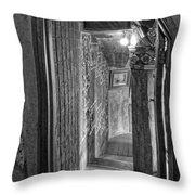 Passageway At Fonthill Castle Throw Pillow