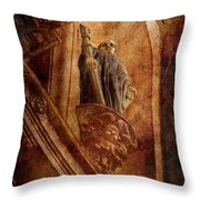 Passed In Glory Throw Pillow