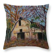Passing Moments Throw Pillow