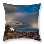 Passing Storm Throw Pillow