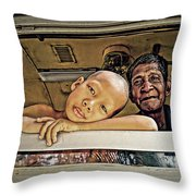 Passing Thoughts Throw Pillow