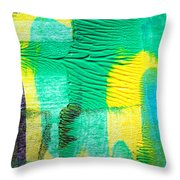 Passing Time Acrylic Mind Image  Throw Pillow by Sir Josef - Social Critic - ART