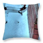 Passing Time...waiting Throw Pillow