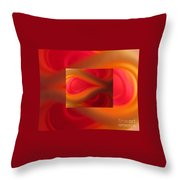 Passion Abstract 02 Throw Pillow