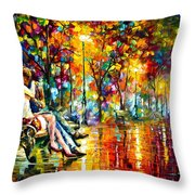 Passion Evening -  New Throw Pillow