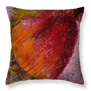 Passion Heart Throw Pillow
