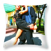 Passion In The Park Throw Pillow