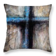 Passion Of The Cross Throw Pillow