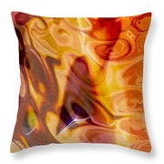 Passion Represents Color Throw Pillow