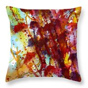 Passion Rising Throw Pillow