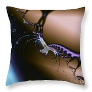 Passion Unleashed Throw Pillow by Renee Trenholm