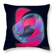 Passionate Embrace Throw Pillow