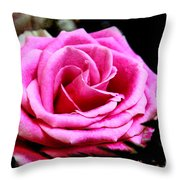 Passionate Rose Throw Pillow