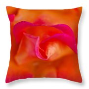 Passion's Flower Throw Pillow